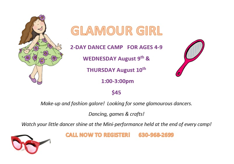 Glamour Girl Dance Camp!