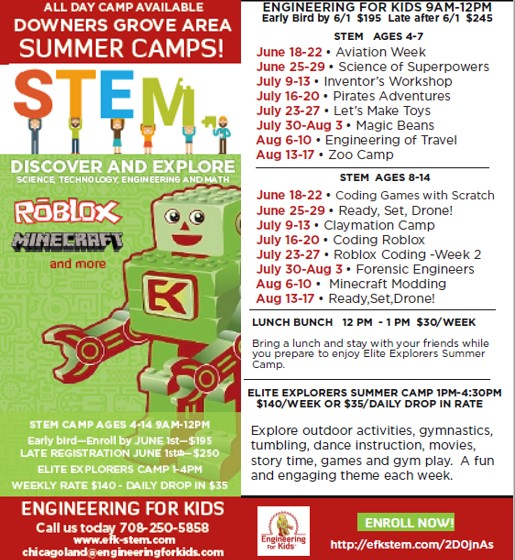 Engineering for Kids STEM Camps
